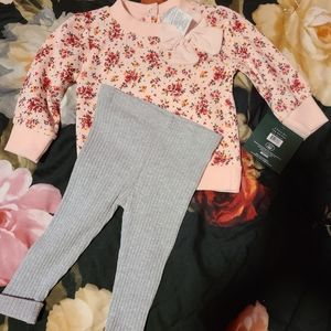 Nwt Laura Ashley outfit set 3-6 months